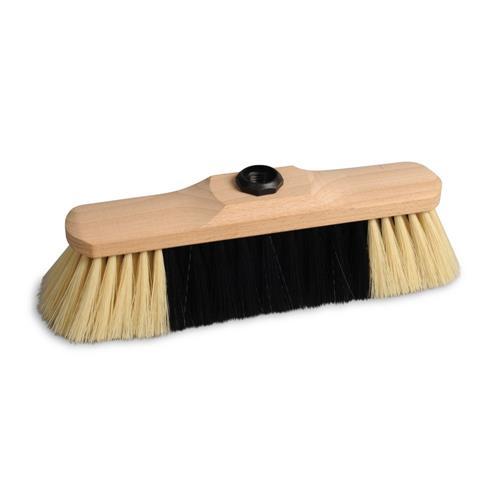 Spontex Robust Wooden Broom + Stick 66012