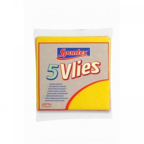 Spontex Universal Cloth Vlies 5pcs 97044012