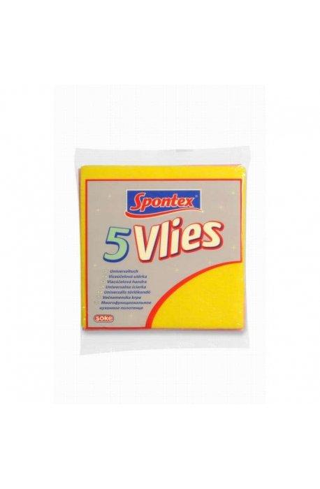 Sponges, cloths and brushes - Spontex Universal Cloth Vlies 5pcs 97044012 -