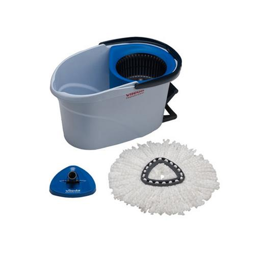 Vileda Ultraspin Starter Kit Blue Bucket + Mop 152910 Vileda Professional