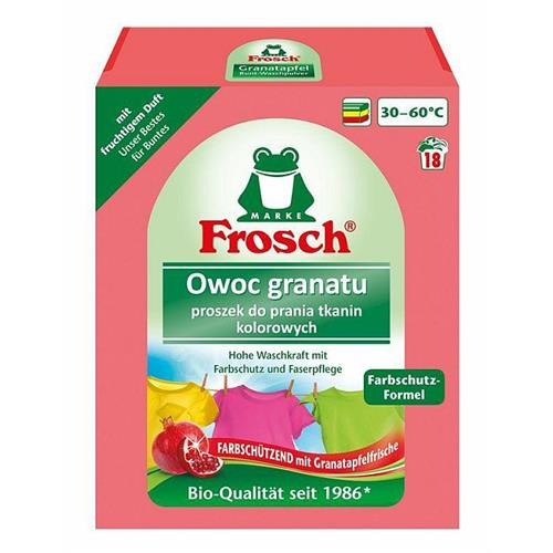Frosch Powder For Washing Fabrics Colorful Pomegranate 1.35kg