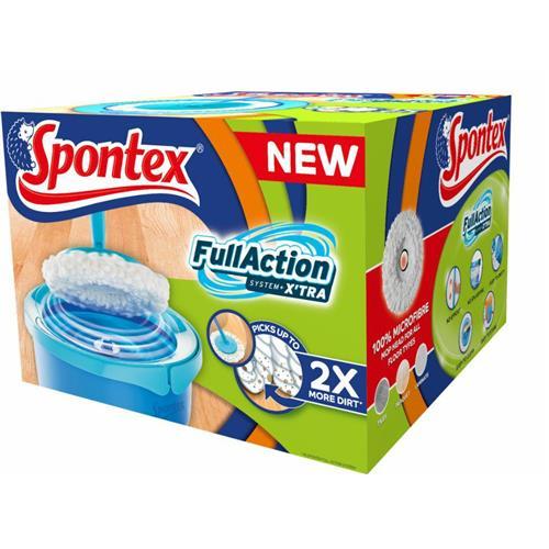 Spontex Full Action + Xtra System Mop Set + Bucket 97050349
