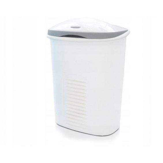 Laundry Basket Twin 60l Two Chambers White Meliconi ...