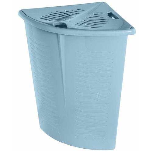 Branq Corner Laundry Basket Zebra 45L Blue 1402