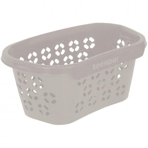 Keeeper Anton Laundry Basket 30.5l Urban Gray With Hip Support 1009