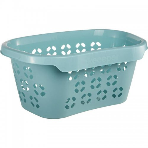 Keeeper Anton Laundry Basket 30.5l Blue Water With Hip Support 1009