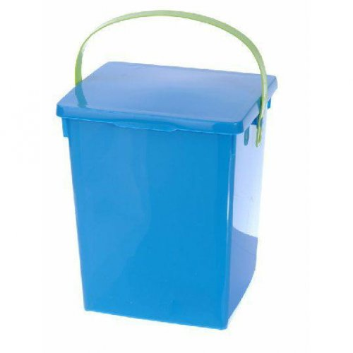 Powder Container Blue Green White Gloss H