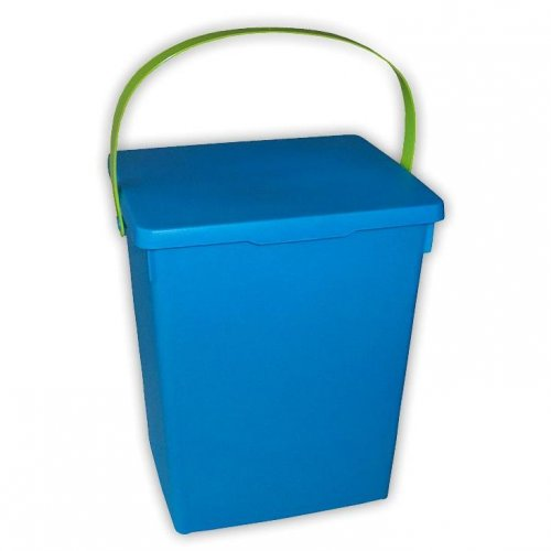 Powder Container Blue Green White Matte H