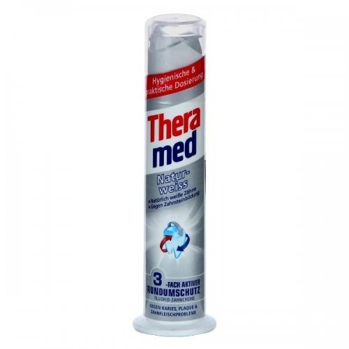 Toothpaste Theramed Natur-Weib 100ml Silver