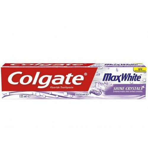 Colgate Toothpaste Max White Shine Crystals 125ml