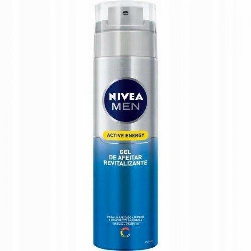 Nivea Men Shaving Gel 200ml Active Energy