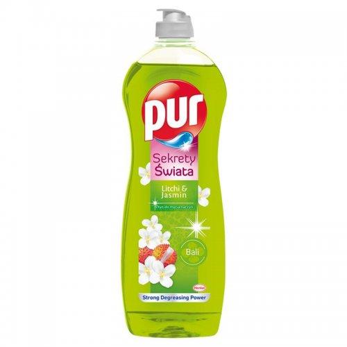 Pur Dishwashing Liquid 750ml Litchi Jasmin