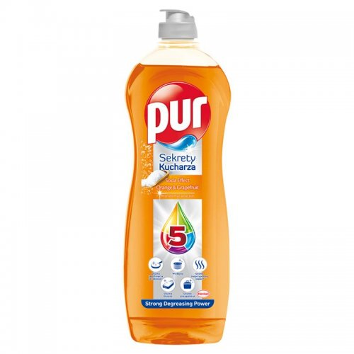 Pur Dishwashing Liquid 750ml Orange Grapefruit