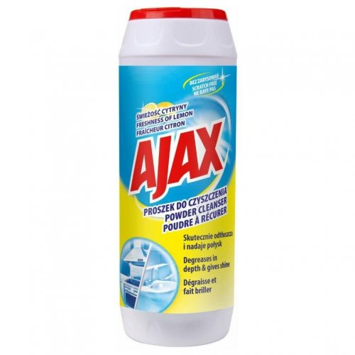 Ajax Lemon Scouring Powder 450g