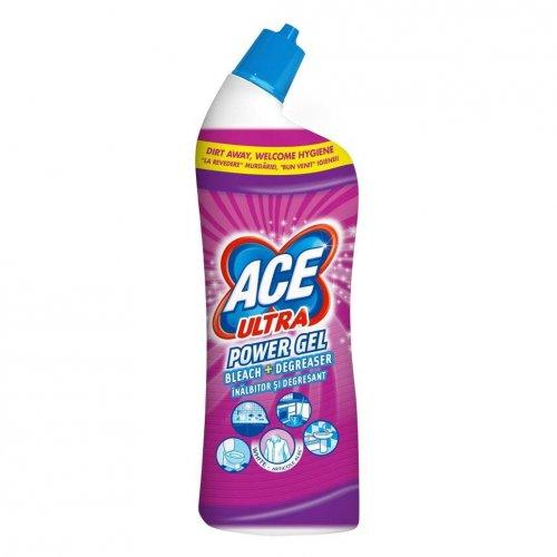 Ace Ultra Toilet Gel 750ml Fresh Pink Procter Gamble