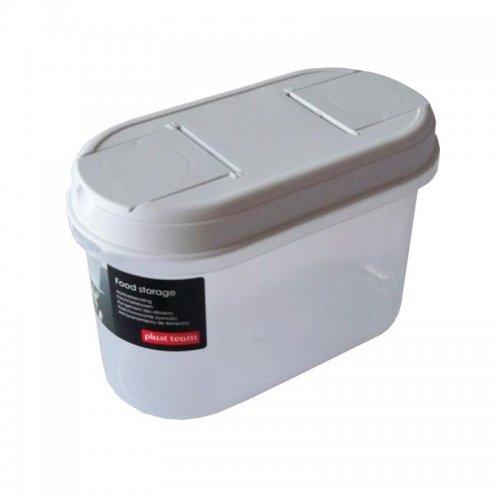 Plast Team Container With Dispenser 1.1l 1125 White