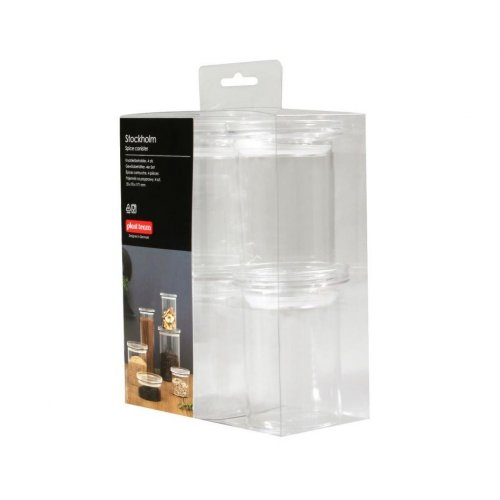 Plast Team Set of 4 Food Containers Stockholm 5311