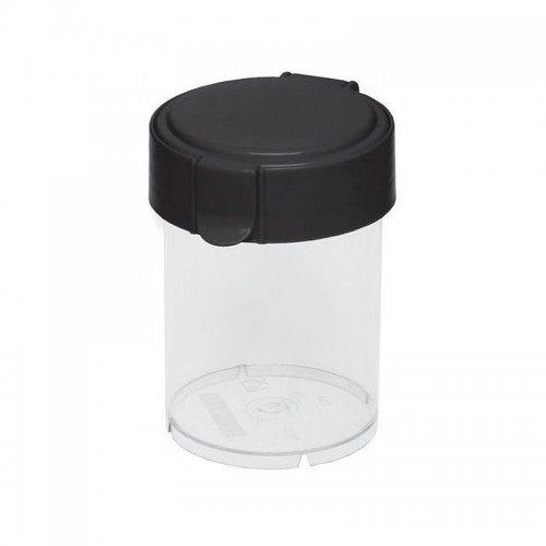 Plast Team Container Round Mary 0.6l Black 1850