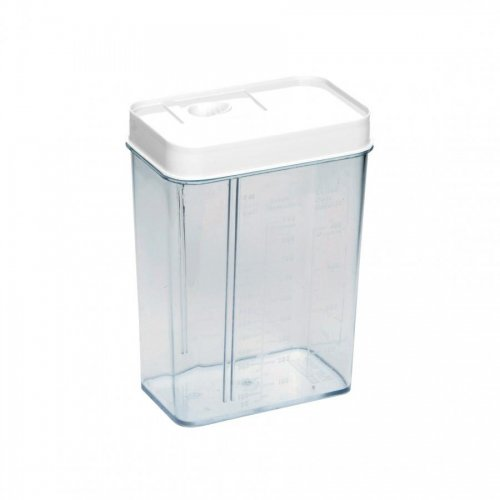 Plast Team Dispenser With Measuring Cup 1.2l 1178 White