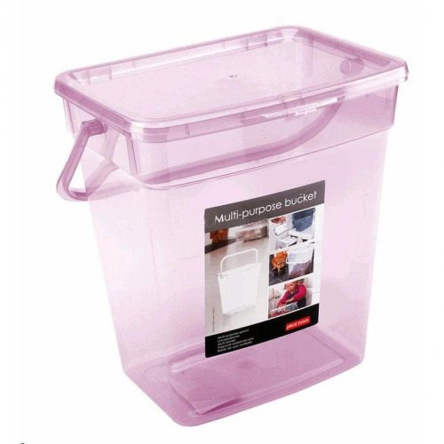 Plast Team Powder Container 10l Violet Lilia 5060