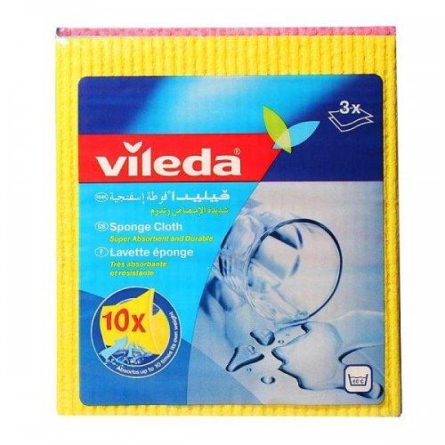 Vileda Aqua Sponge Cloth 5pcs 142267 Vileda Professional