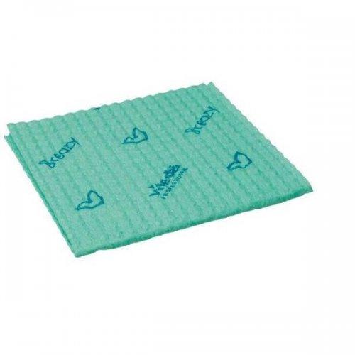 Vileda Cloth Has 3d Breazy Green 120122 Vileda Professional