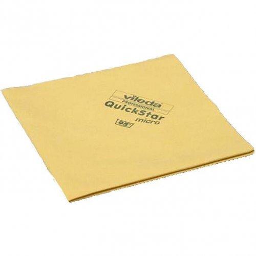Vileda Micron Quick Yellow Cloth 152107 Vileda Professional