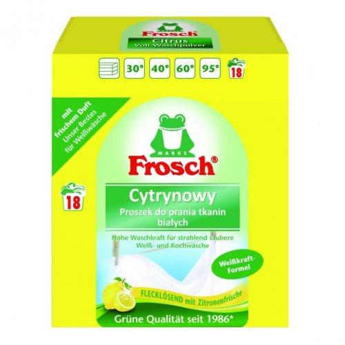 Frosch Powder For Washing White Fabrics Lemon 1.35kg