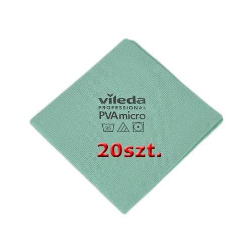 Vileda Set Cloth Pva Micro Green 20 pcs