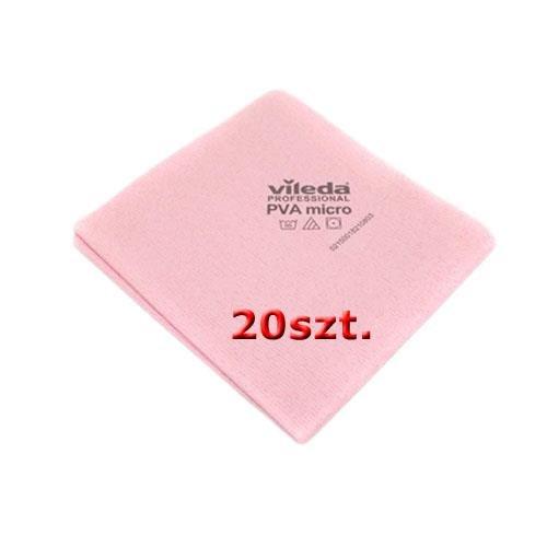 Vileda Set Cloth Pva Micro Red 20pcs