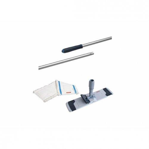 Set Kombi-Mopphalter Speed 40cm +3 x Microspeed Flachmoppeinsatz + 145cm Stiel Vileda Professional