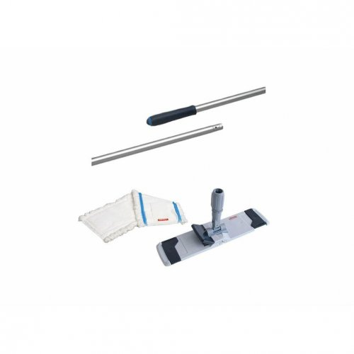 Set Combi-Mopphalter Speed 50cm +3 x Microspeed Flachmoppeinsatz + 145cm Stiel Vileda Professional