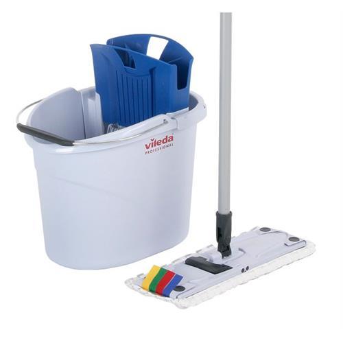 Vileda Ultraspeed Mini Starter Kit Bucket + Mop 133414 Vileda Professional