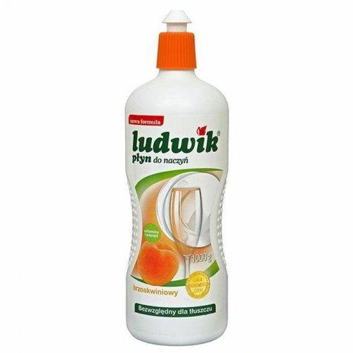 Gefäß-Waschflüssigkeit Ludwik 1l Pfirsich