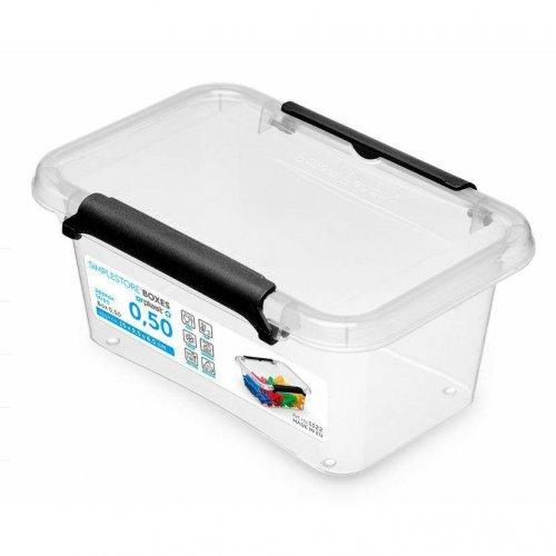Rechteckiger Behälter 0.5l Simple Box 1122