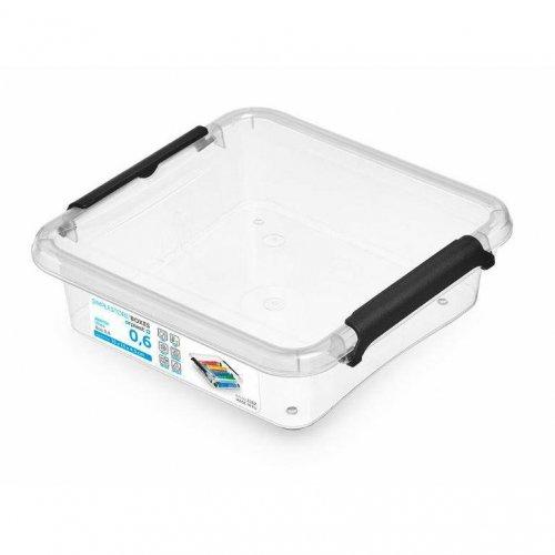 Behälter Quadrat 0,6l 1162 Einfache Box