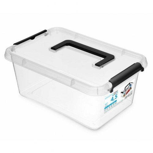 Rechteckiger Behälter mit Griff 4.5 l Simple Box 1323