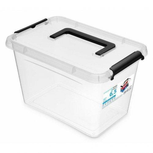 Rechteckiger Behälter mit Griff 6.5l Simple Box 61333