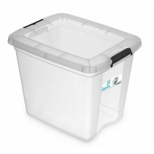 Clip-on container 27l RobuStore 1952 Transparent