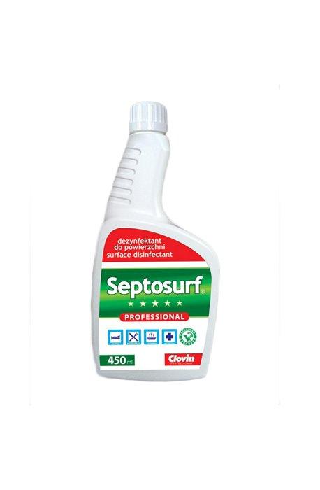 Antibacterial, disinfecting liquids - Septosurf 450ml Clovin Disinfectant -