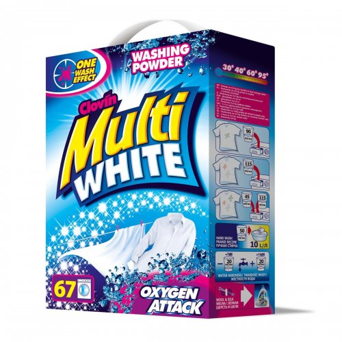 Multiwhite Clovin Carton Powder 5kg