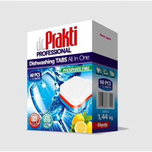 Dr.Prakti Dishwasher Tablets 60 + 12pcs Clovin