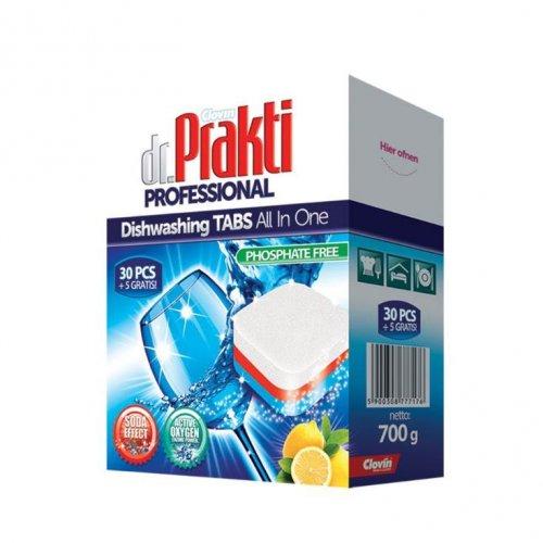 Dr.Prakti Dishwasher Tablets 30 + 5pcs Clovin