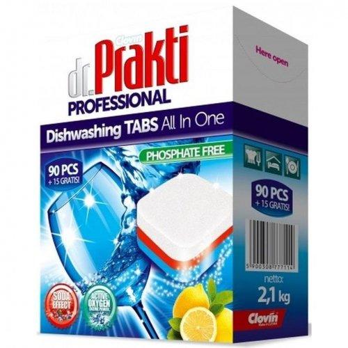 Dr.Prakti Dishwasher Tablets 90 + 15pcs Clovin