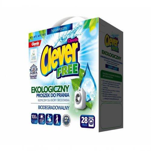 Clever Free Washing Powder 1.68kg Clovin