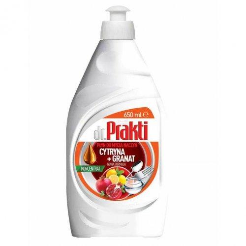 Dr.Prakti Dishwashing concentrate Lemon + Pomegranate 650ml Clovin