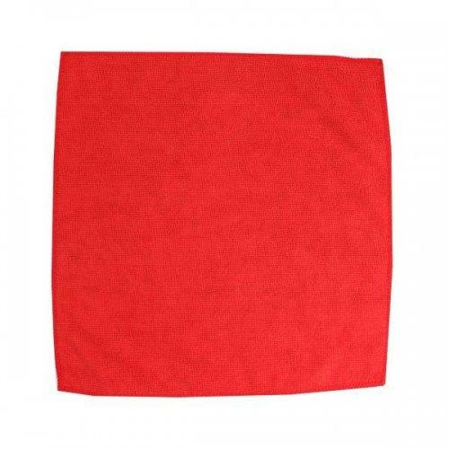 Microfiber cloth 32x32 red F