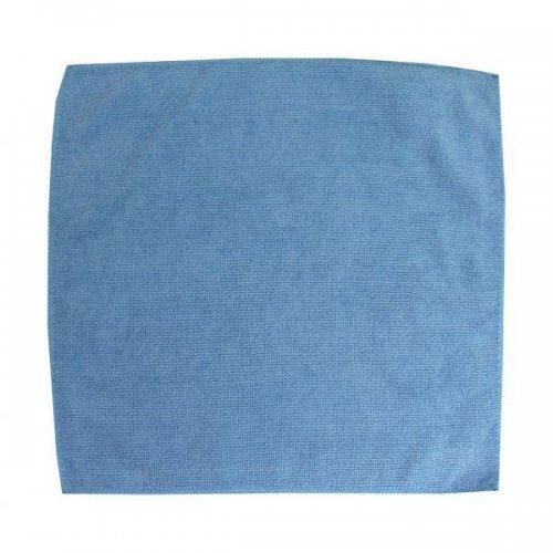 Microfiber cloth 32x32 blue F