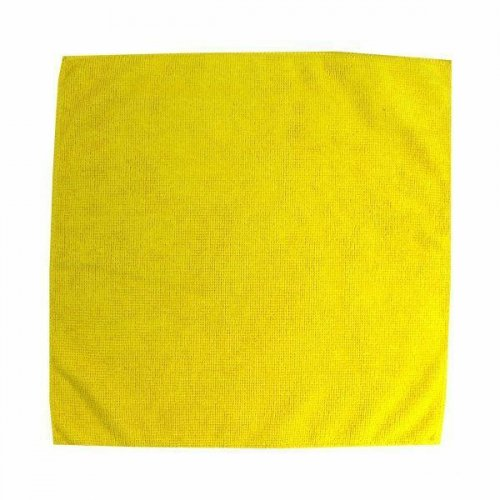 Microfiber cloth 32x32 yellow F