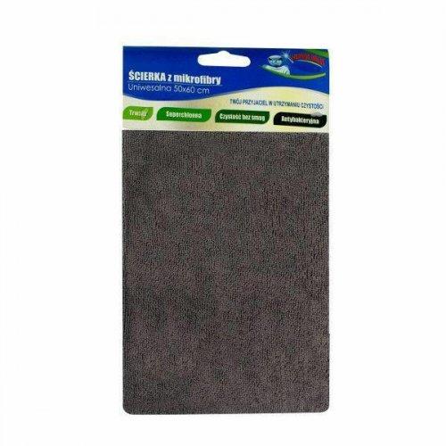 Gray Microfiber Floor Cloth 50x60 Fe-02 F